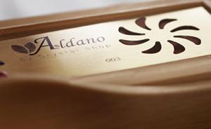Aldano produzione Humidor per sigari