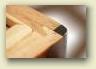 Scatola humidor da tavolo in legno massello